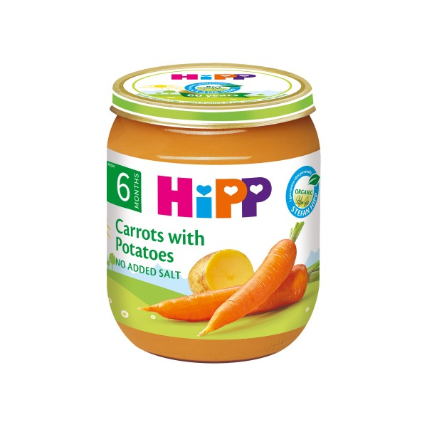 HiPP Organic Carrots with Potatoes 125g