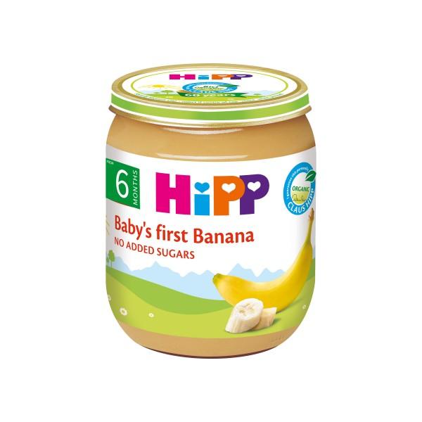 HiPP Organic Baby's First Banana 125g