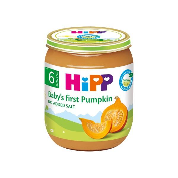 HiPP Organic Baby's First Pumpkin 125g