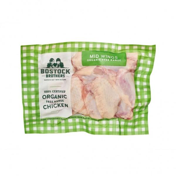 Organic Free-Range Chicken Mid Wings
