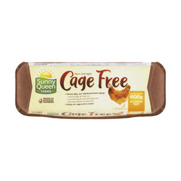 Sunny Queens Cage Free Eggs Large