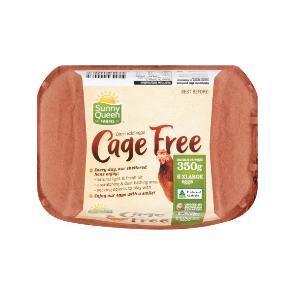 Sunny Queens Cage Free Eggs XLarge