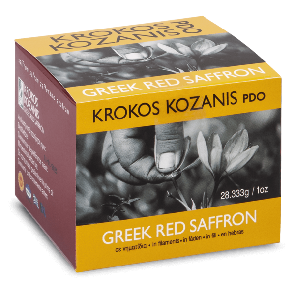 Krokos Kozani Red Saffron Single Bottle 28g