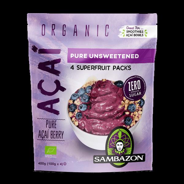 Sambazon Organic Acai Berry Unsweetened