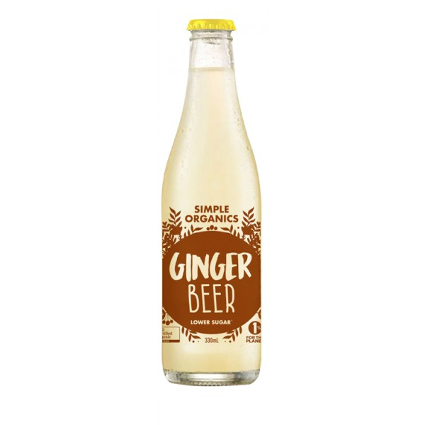 Simple Organics Sodas - Ginger Beer
