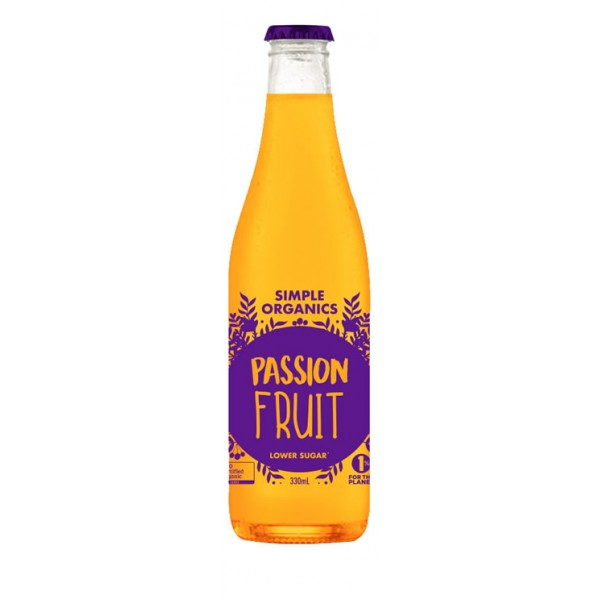 Simple Organics Sodas - Passion Fruit