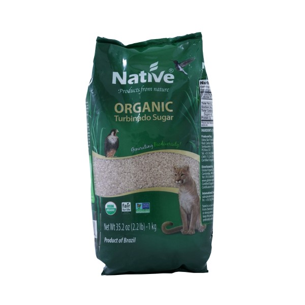 Native Organic Turbinado Sugar