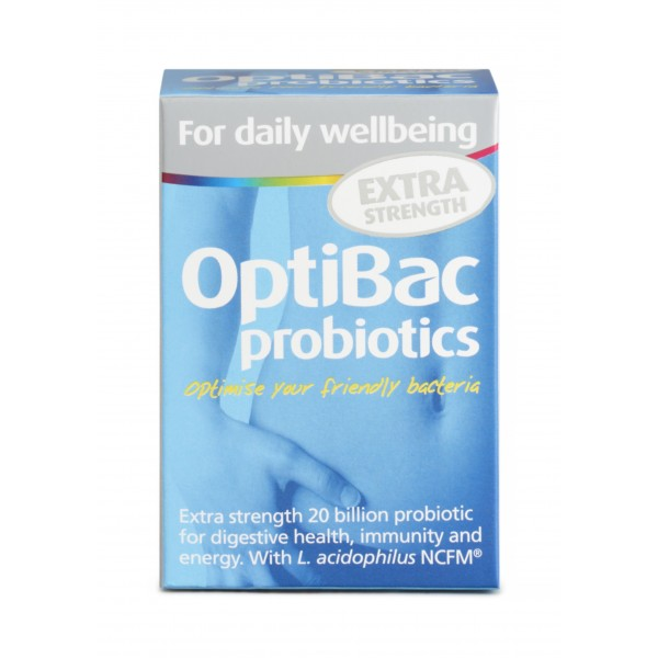 OptiBac for Daily Wellbeing Extra Strength
