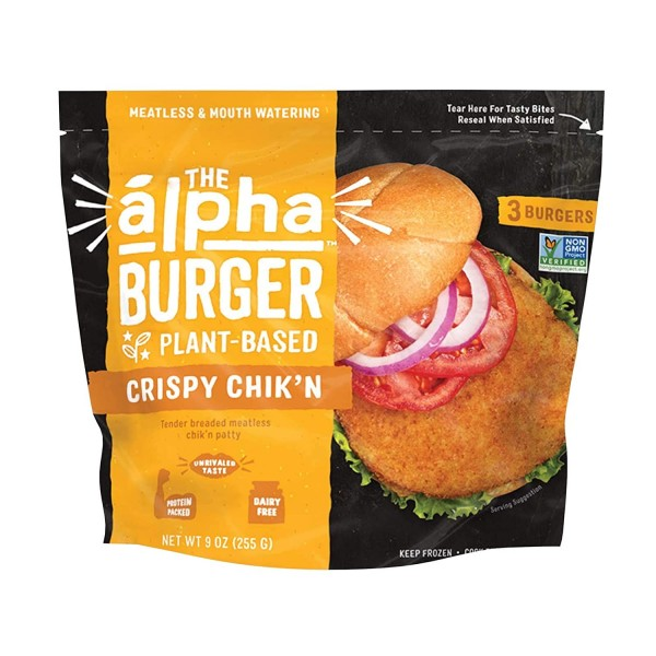 Alpha Foods The Alpha Crispy Chik'n Burger