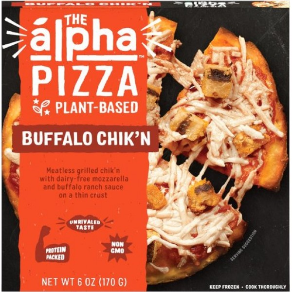 Alpha Foods The Alpha Buffalo Chik'n Pizza