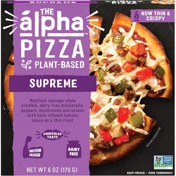 Alpha Foods The Alpha Supreme Pizza
