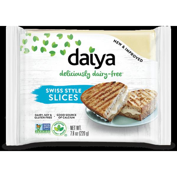 Daiya Swiss Slice - Dairy Free (Plant Base)