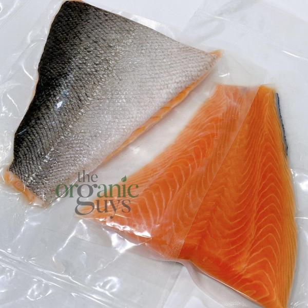 Fresh NZ King Salmon (1 Portion - Tail End)